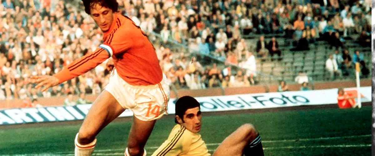 Johan Cruijff in Oranje