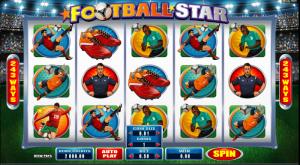 gokkast football star