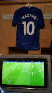 Chelsea stadion Hazard