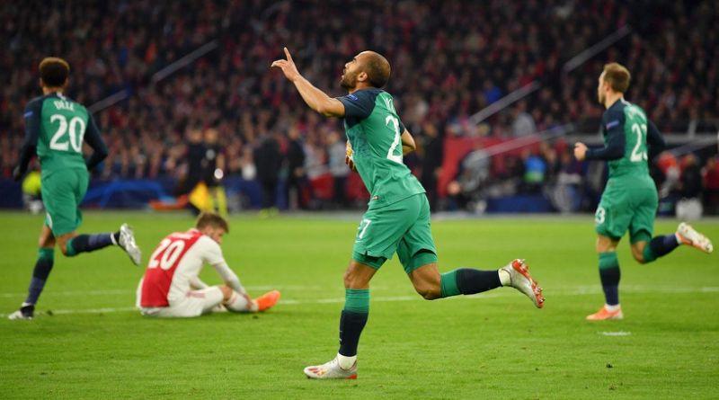 Lucas Moura vs Ajax