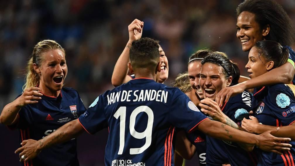Van de Sanden Olympique Lyon