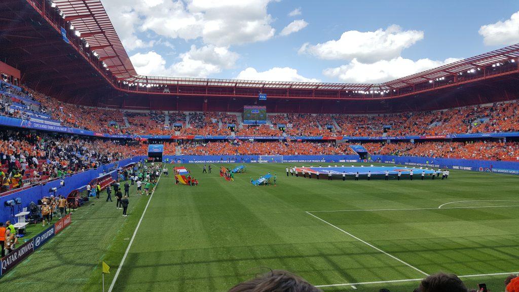 WK Nederland Kameroen