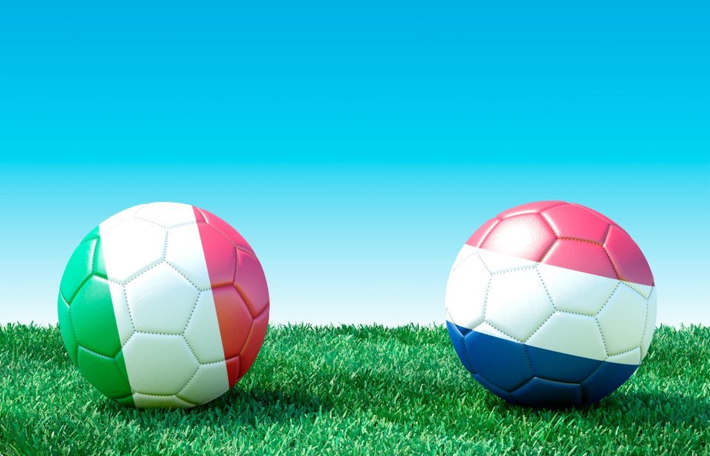 Nederland Italie voetbal