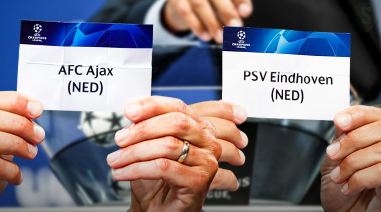 Loting Nyon voorronde champions league ajax en psv
