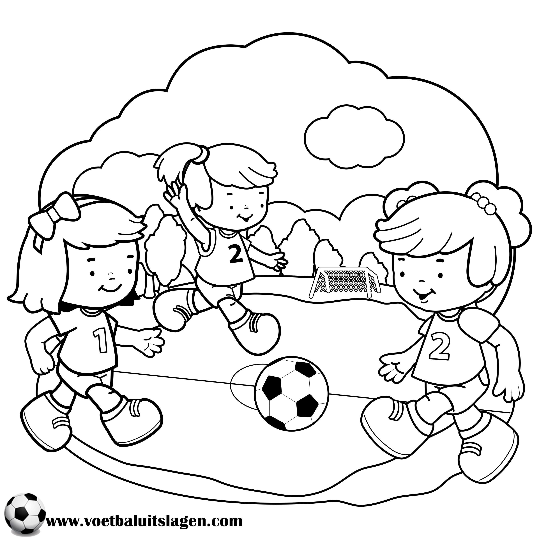 Kleurplaten Voetbal Juventus.Kleurplaat Voetbal Printen Gratis Voetbaluitslagen Com