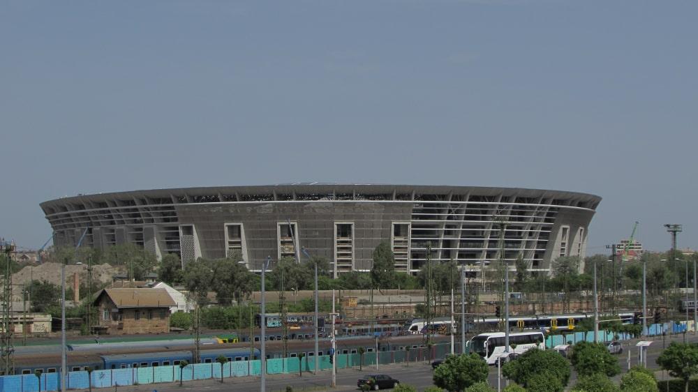 Ferenc Puskàsstadion Boedapest