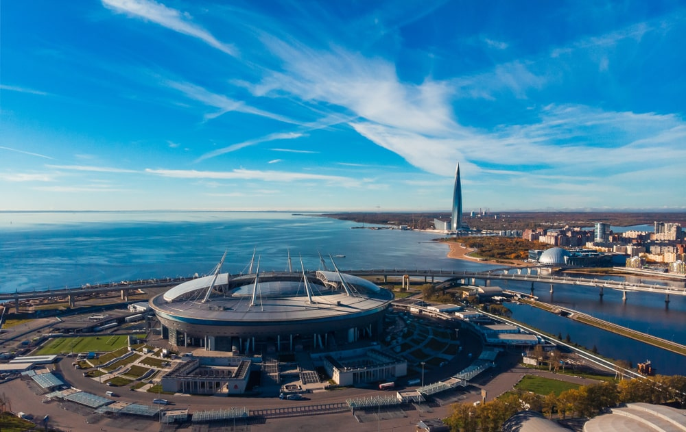 Crestovskistadion Sint-Petersburg