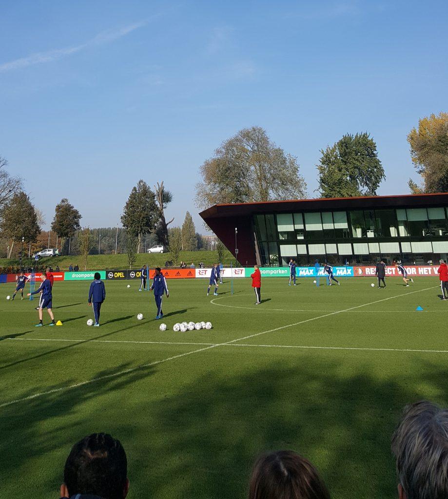 Training Feyenoord dick advocaat