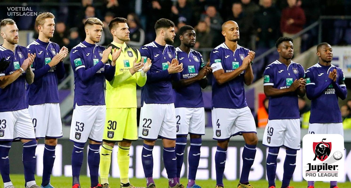 Anderlecht landskampioen