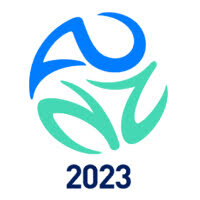 Competition logo for WK 2023 Vrouwen