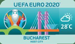 Speelstad EK 2020 Boekarest weersverwachting