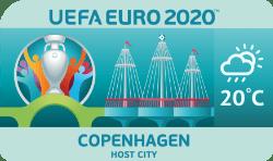 Speelstad EK 2020 Kopenhagen weersverwachting