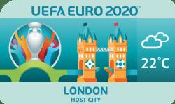 Speelstad EK 2020 Londen weersverwachting