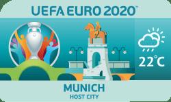 Speelstad EK 2020 Munchen weersverwachting