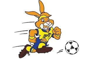EK voetbal 1992 mascotte Rabbit