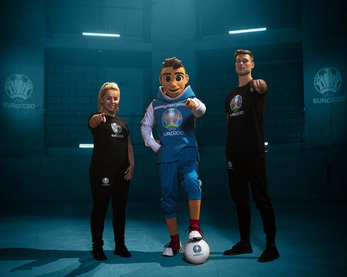 Skillzy mascotte EK voetbal 2020