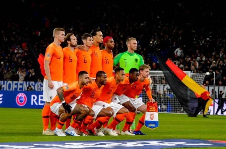 nederlands elftal foto