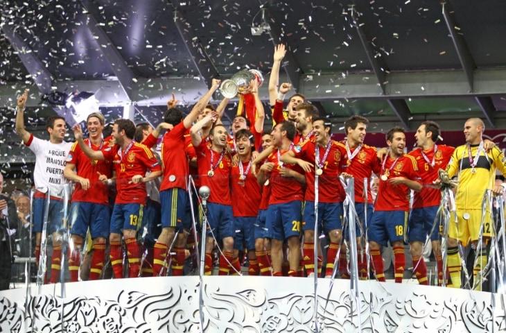 Spanje Kampioen 2012