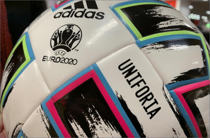 uniforia voetbal close up