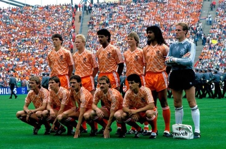 nederlands elftal foto 1988