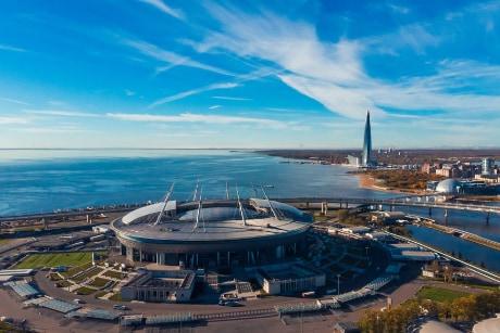 stadion sint petersburg rusland