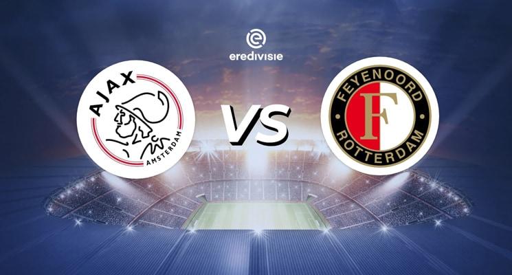 Ajax vs Feyenoord klein