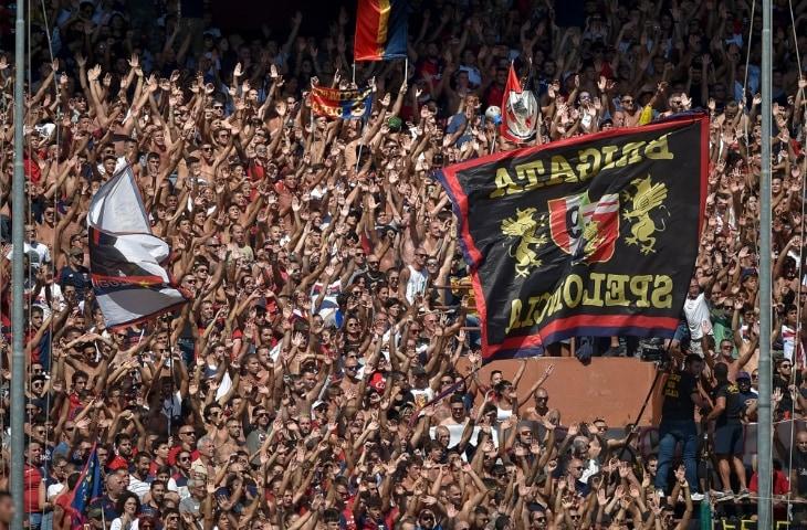 genoa fans italie