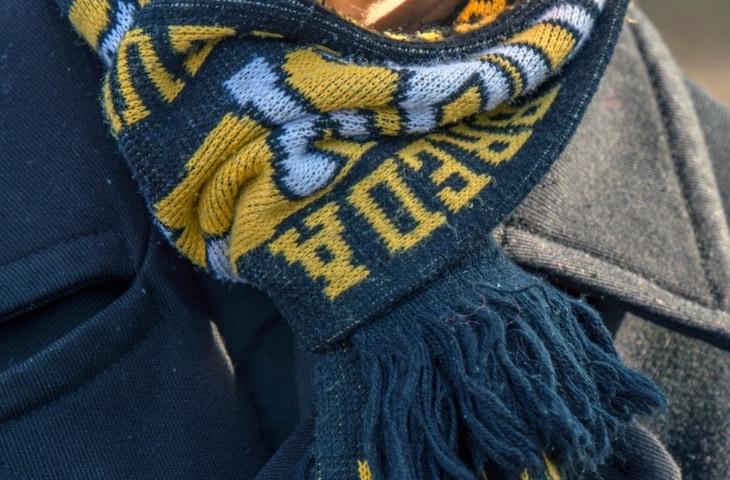 nac breda sjaal bij supporter