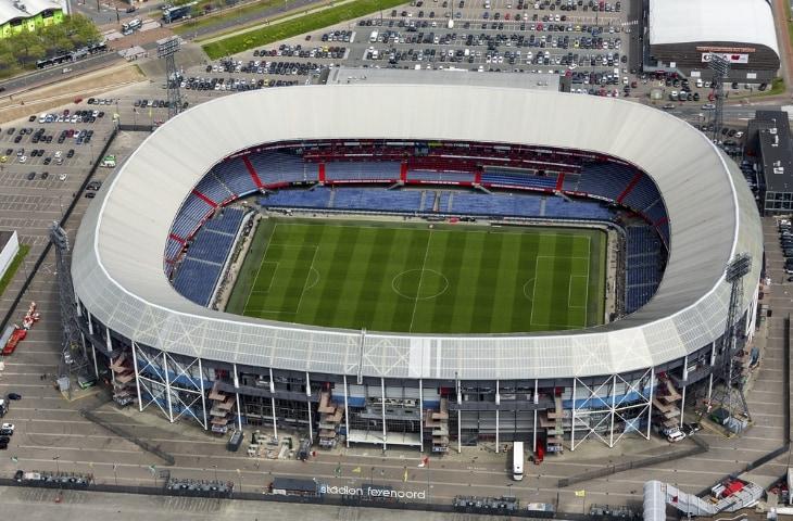 stadion de kuip van bovenaf