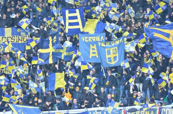 hellas verona fans italie