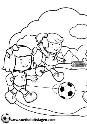 Quatang Gallery- Kleurplaat Voetbal Printen Gratis Voetbaluitslagen Com